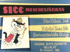 Sicc Meseországban Film Strip, Children's Literature, Budapest, Puppets, Wonderland, Animation, Baseball Cards, History, Youtube