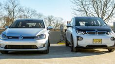 BMW and VW are teaming up to create a Tesla Supercharger-like charging network that any electric car can use. http://inhabitat.com/bmw-and-volkswagen-team-up-on-plans-to-install-up-100-dc-fast-chargers-on-high-traffic-u-s-routes/