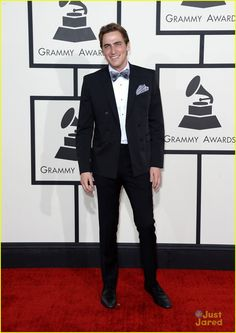 Kendall Schmidt: Bow Ties at Grammys 2014