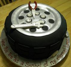 Unique music, guitar and turntable Groom's cake pictures, ideas and designs 3 - wedding and birthday cake pictures Crazy Cakes, Fancy Cakes, Cute Cakes, Birthday Cakes For Men, Car Birthday, Daddy Birthday, Birthday Sayings, Birthday Parties, Unique Cakes