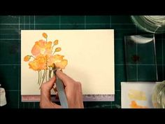 Distress Stain Watercolor Tutorial - Splitcoaststampers