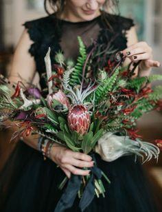 protea textured bouquet    #bouquet #texturedbouquet