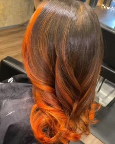 Hair Ponytail Styles, Curly Hair Styles, Natural Hair Styles, Ginger Hair Color, Hair Color For Black Hair, Dyed Natural Hair, Dyed Hair, Pelo Color Vino, Feed In Braids Hairstyles