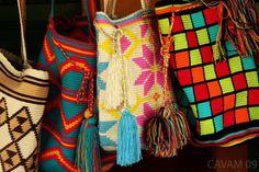 Handmade bags. Guajira, Colombia