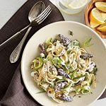 Spring Pasta with Morels Recipe | MyRecipes.com