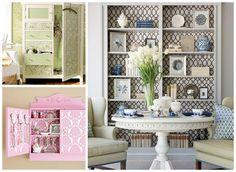 Ποιος είπε ότι οι ταπετσαρίες και τα αυτοκόλλητα τοίχου είναι μόνο για τη διακόσμηση του τοίχου; Δείτε κάποιες υπέροχες δημιουργίες και κλέψτε ιδέες! #Houseart
