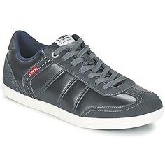 trendy Levis loch heren sneakers (Grijs)