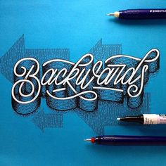 Love the detail in this work by @memovigil - #typegang - typegang.com