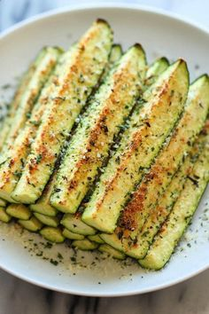 Baked Parmesan Zucchini Fries. Found this recipe at http://yumpinrecipes.com