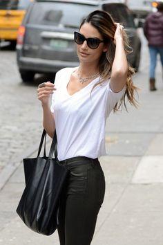 lily aldridge street style - Google Search