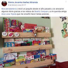 Gloria Jovanka Ibañez Miranda Early Childhood, Reading, Party, Libros, Art