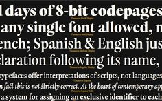 Thesaurus: Inspired from Geneva's Estiennes typographic heritage   Typeroom.eu