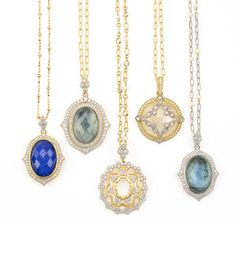 JudeFrances pendants are elegant and classic. Available at Underwood Jewelers