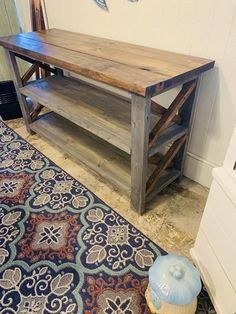 Items similar to Rustic Wooden Buffet Table, Rustic Console Table, Farmhouse Buffet Table, Gray Base with Provincial Brown Top on Etsy Diy Farmhouse Coffee Table, Rustic Table, Rustic Consoles, Farmhouse Buffet, Coffee Bar Home, Farmhouse Table With Bench, Table, Coffee Table Farmhouse, Rustic Console Tables