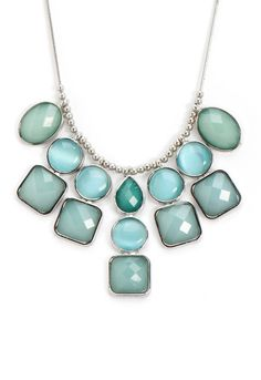 Turquoise+Statement+Necklace | Turquoise Statement Necklace - Christopher & Banks | Things I'm lovin'