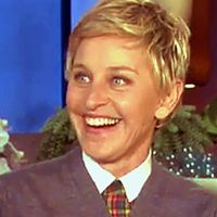 ELLEN DEGENERES, Talk show host, comedian. First reported by INSIDER TV in Ellen acknowledged her A-Fib in the August 2014 episode of her show when talking with Howie Mandel (who also has A-Fib). Howie Mandel, Olympic Champion, Political Leaders, August 19, Ellen Degeneres, Track And Field, Celebs, Celebrities, Canada Travel