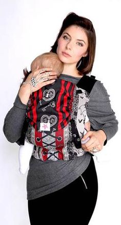 Kokadi Flip Baby Carrier - Gothic (Limited Edition)