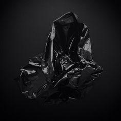 Black plastic bag