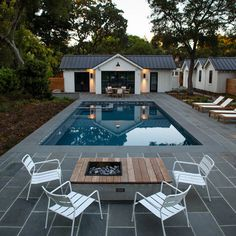 The backyard was thought to be a location for relaxation and outdoor pursuits. Your backyard wants the same degree of care. Transforming the backyard of your house into a pool is indeed among the best decisions that can be made. Backyard Pool Designs, Swimming Pools Backyard, Backyard Patio, Swimming Ponds, Farmhouse Landscaping, Pool Landscaping, Cabana, Pool Landscape Design, Modern Pools
