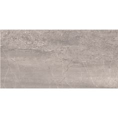 Style Selections Skyros Gray Porcelain Floor and Wall Tile (Common: 12-in x 24-in; Actual: 11.75-in x 23.75-in)