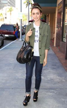 Lily Collins from The Big Picture: Today's Hot Pics! | E! Online