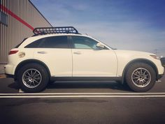 Infiniti lift and tires BF goodrich TA Street Performance, Performance Cars, Infiniti Fx35, Aftermarket Parts, American Muscle Cars, Roof Rack, Weekend Getaways, Outdoor Activities, Autos