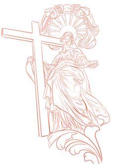 Jesus Christ Drawing, Catholic Tattoos, Heaven Tattoos, Money Tattoo, Tattoo Designs, Design Tattoos, Tattoo Drawings, Black And Grey, Texas