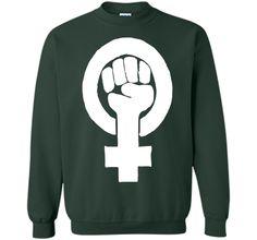 Feminist Symbol T-Shirt Protestor Support Feminism