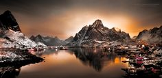 Morning Silence by Lior Yaakobi on 500px  (Reine, Norway)