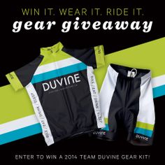 Need some new cycling gear? Win an ALL NEW Gear Kit from DuVine!