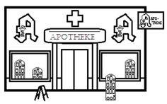 Vektorkunst - Kaufmannsladen, supermarkt, vektor, heiligenbilder. Clipart-Zeichnung  gg71756319 - GoGraph