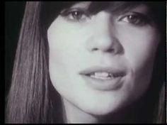 Françoise Hardy - Mon amie la rose (1965) - YouTube
