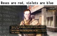 25 Fallout Memes New Vegas Fallout 4 Secrets, Fallout Tips, Fallout Funny, Fallout Fan Art, Vegas Memes, You Funny, Funny Shit, Funny Stuff, Funny Pins