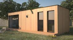 Grands bungalows pour résidences de vacances