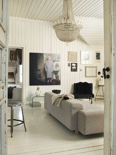 an eclectic home in norway
