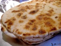 The Brighter Side of Gluten Free: Naan Bread