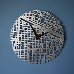 Every city has its own artistic flavor, and Urban Story clocks pay homage to the often under-examined creative character of urban life. These brushed metal timepieces. Tech Accessories, Decorative Accessories, Fabricated City, Urban Stories, Urban Life, Brushed Metal, Contemporary Decor, Clock, Design