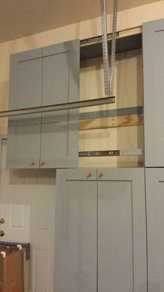 Making Garage Storage Cabinets (I) & Coleman Garage Cabinet Storage System