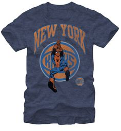 d3904ac069f4 New York Knicks Spiderman Tee With FREE SHIPPING New York Mens
