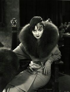 Image result for fur hat and muff old hollywood