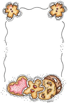 gingerbread blank recipe printable (I am going to enlarge this to use as holiday stationary)