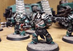 Forge World - Blog#3 Chris takes a look at Forge World painter Matt Murphy-Kane's growing Legion World Painter, Matt Murphy, Sons Of Horus, Fantasy Battle, Warhammer 40k Miniatures, Warhammer 40000, Space Marine, Emperor, Marines