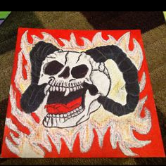Anger painting?