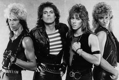 Heavy Metal Band Dokken Don Dokken George Lynch Jeff Pilson Mick Brown Dokken Band, Don Dokken, 80s Heavy Metal, Heavy Metal Bands, Nikki Sixx, Herman Ze German, Music Is Life, My Music, Musica