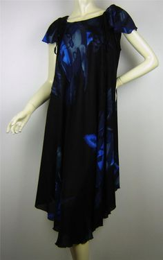 Plus Size Printed FESTIVAL Beachwear Umbrella Dress Sz 16 - 26 Au