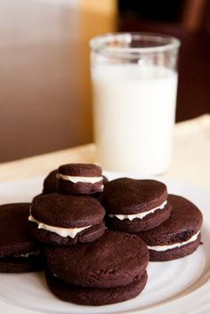 Oreo Cookies Made From Scratch - Just Like the Ones From the Box, Only Better ~ Cupcake Project