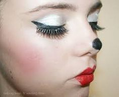 minnie mouse makeup - Google Search