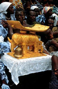 Akropong-Akwapim (Akuapem) Odwira festival, Ghana. Photo by Michelle Gilbert…