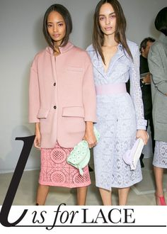 A-Z Spring 2014 Trend Report: L is for Lace