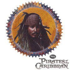 Pirates of the Caribbean Cupcake Liners by Wilton